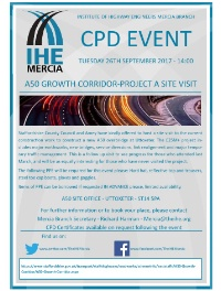 A50 Growth Corridor CPD Site Visit
