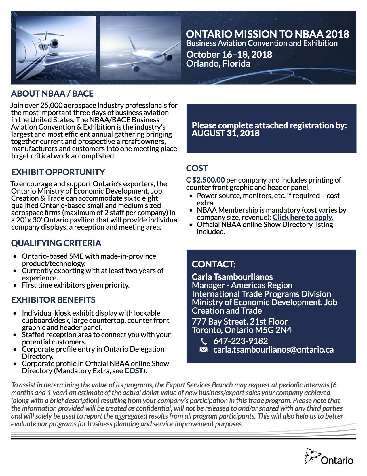Ontario Aerospace Council (OAC)