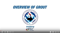 Overview of Grout