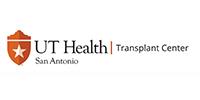 UT Health San Antonio University Transplant Center Logo
