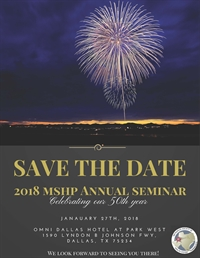 2018 MSHP 50TH ANNUAL PHARMACY C.E. SEMINAR