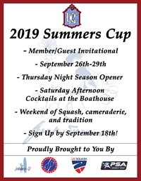 2019 Summers Cup