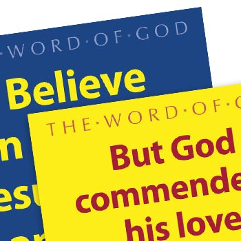 Picture of Large Scripture Posters