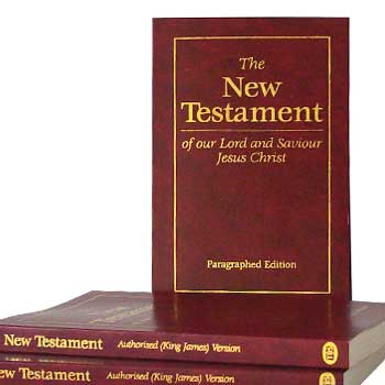 Picture of Paragraphed New Testaments