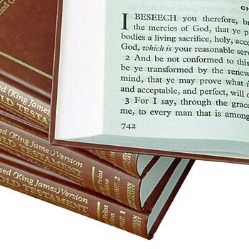 Picture of Giant Print Bibles