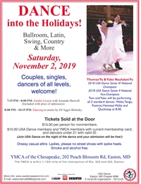 USA Dance Easton Chapter Monthly Dance