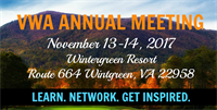 VWA Annual Mtg & Conference - Sponsors