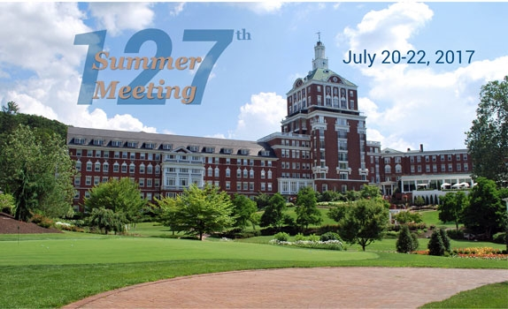 Join us at the 127th Summer Meeting
