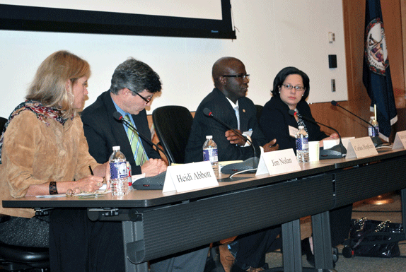 Presentation panel at the Administrative Law Conference 2015