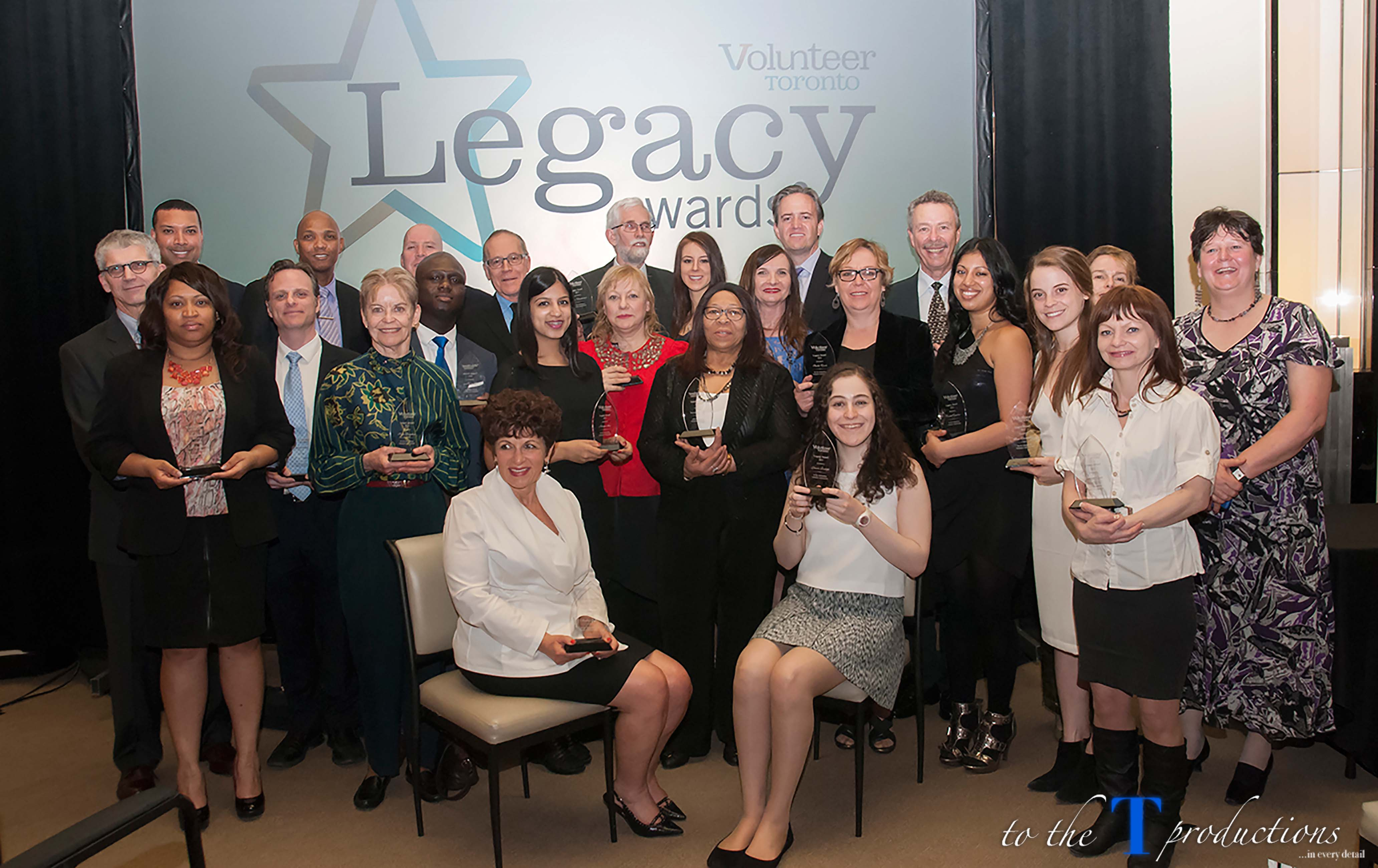 Group photo of the 2015 Legacy Award Winners