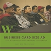 Business Card Size - 2018 Convention Advertisement