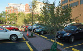 'Green' Parking Lots Kick-Off Innovative Approach to Managing Storm Water Pollution