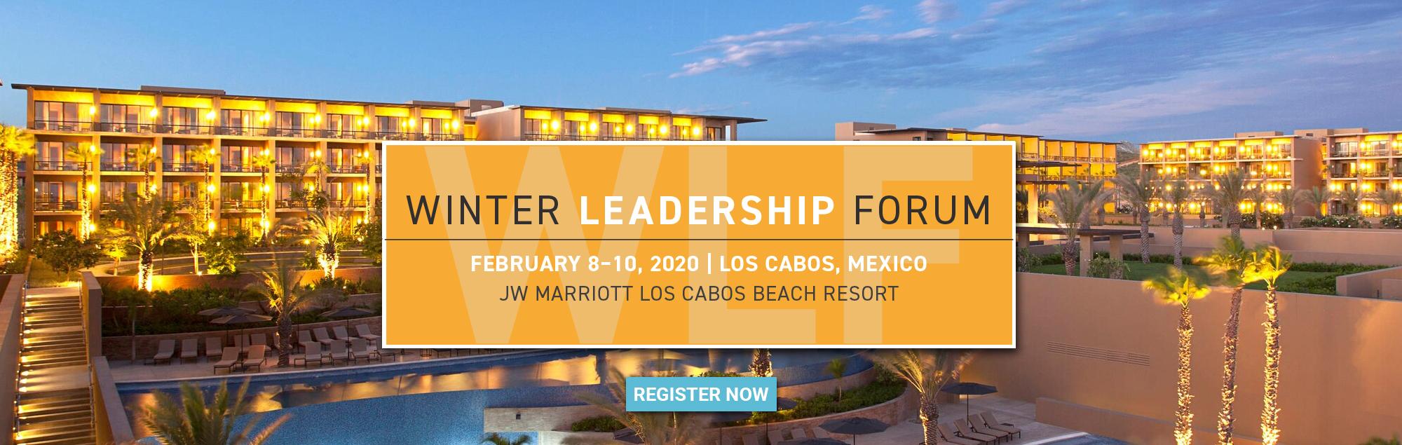 Winter Leadership Forum