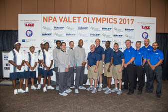 National Valet Olympics Competitors