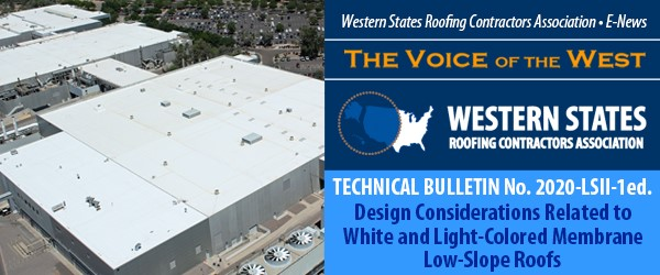 Roof Talk Western States Roofing Contractors Association
