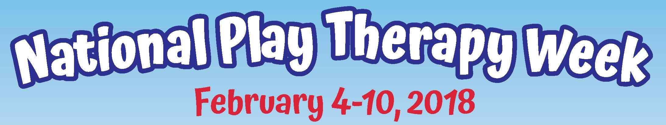 National play therapy week association for play therapy national play therapy week starts february 4th through the 10th this is a time to highlight and promote the importance of play therapy credentialed play 1betcityfo Gallery