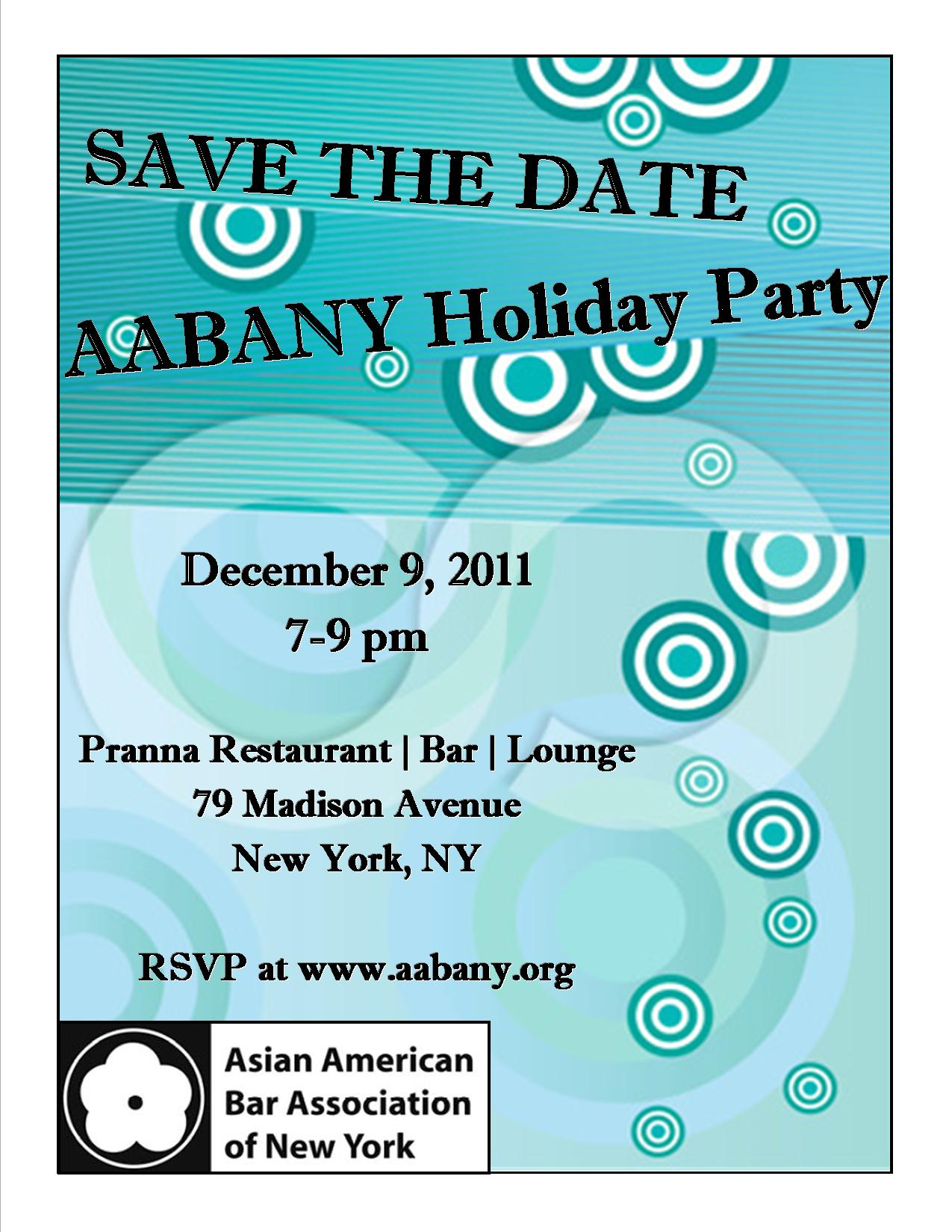 AABANY Holiday Party