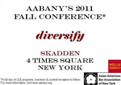 Fall Conference 2011 Diversify