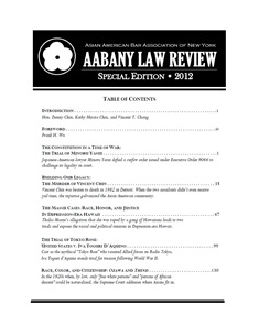 AABANY Law Review Special Edition