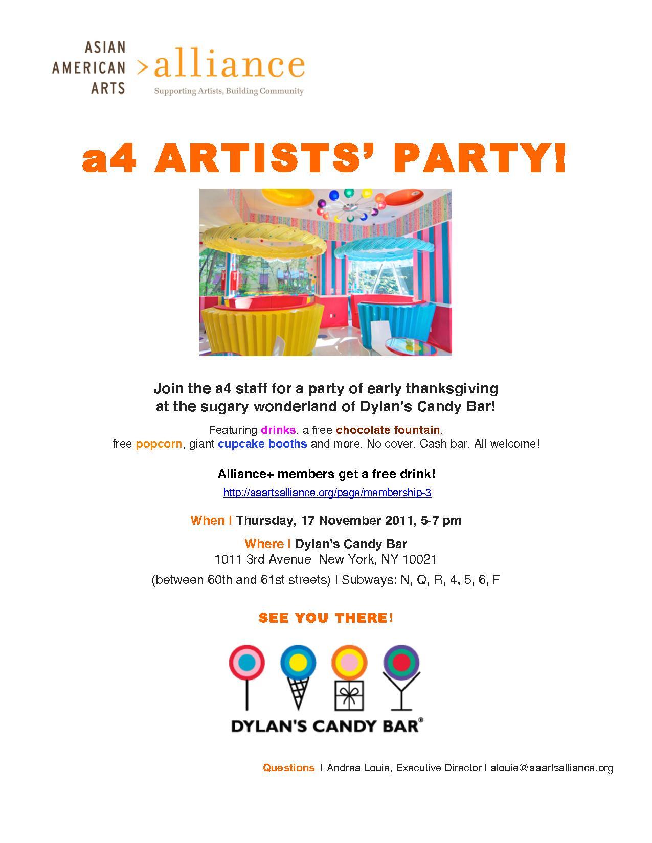 artst party