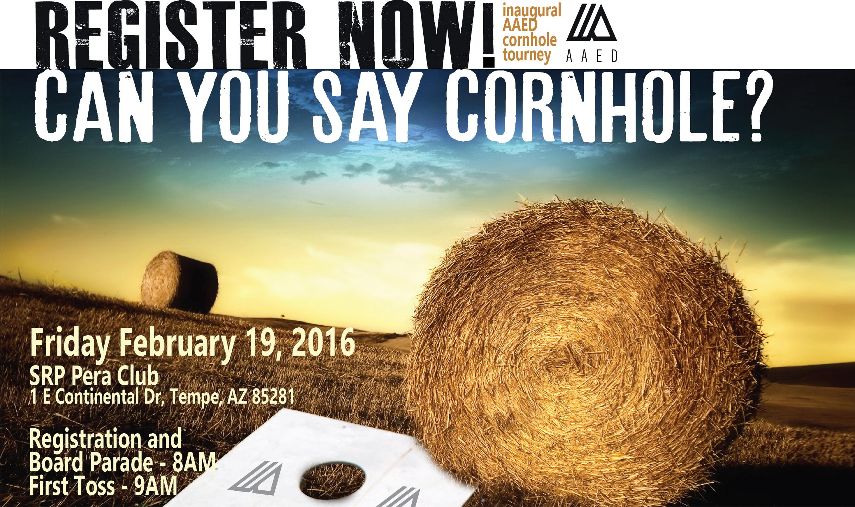 Inaugural AAED Cornhole Tourney @ SRP Pera Club | Tempe | Arizona | United States