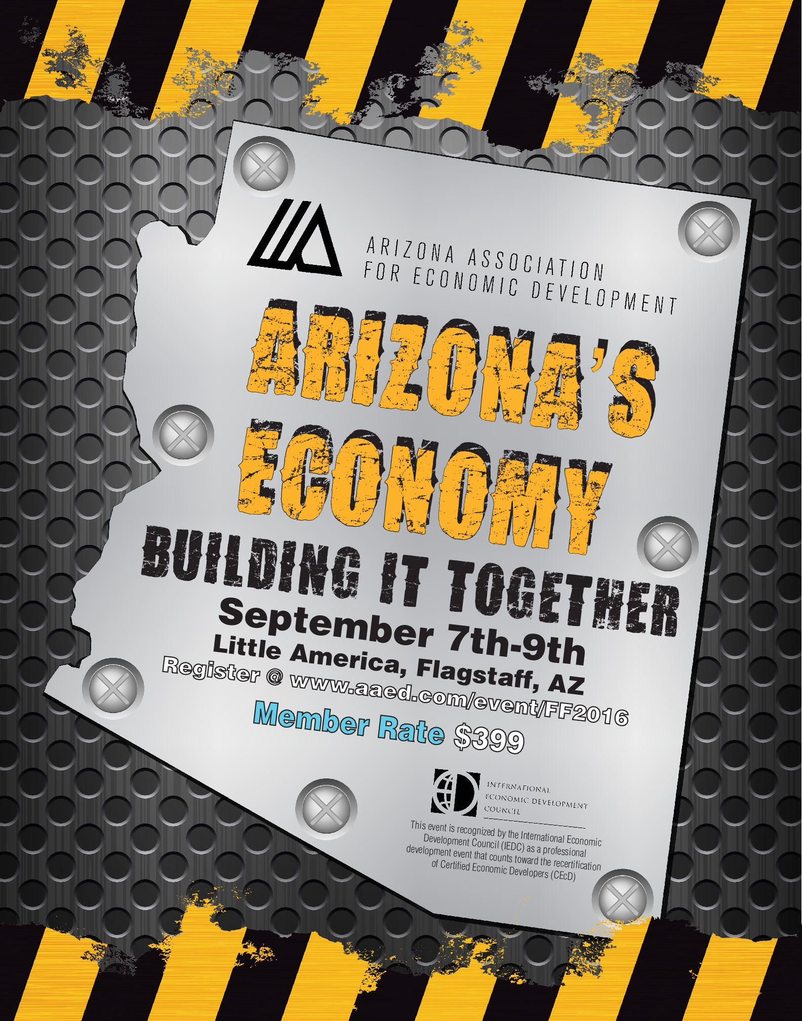 AAED FALL FORUM- Arizona's Economy: Building it Together @ Little America | Flagstaff | Arizona | United States