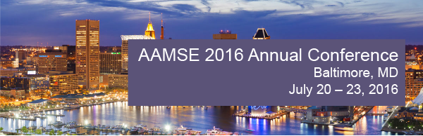 AAMSE 2016 Annual Conference