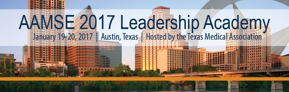2017 AAMSE Leadership Academy