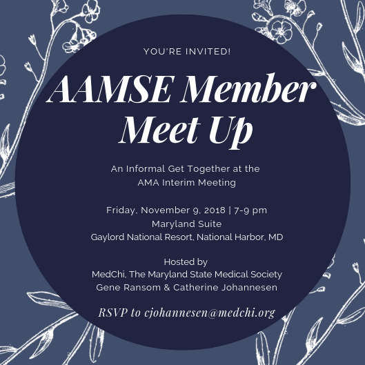 AAMSE Invitation - RSVP Today!