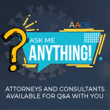 Ask Me Anything! Weekly Q&A with Attorneys and Consultants