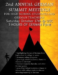 AATG-SC German Summit - October 17, 2015