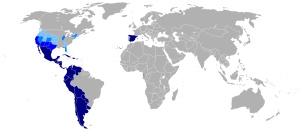 Map Of Spain For Classroom.The Case For Spanish Or Portuguese Aatsp