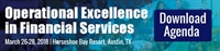 OPEX Financial Services | March 26-28 Austin, Texas