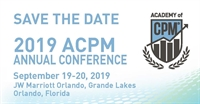 2019 ACPM Annual Conference