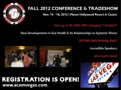 Inscrições abertas para ACAM Fall Conference & Tradeshow 1