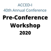 The Power of You Pre-Conference Workshop 2020