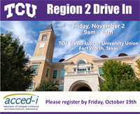 Region 2 Drive-In at Texas Christian University