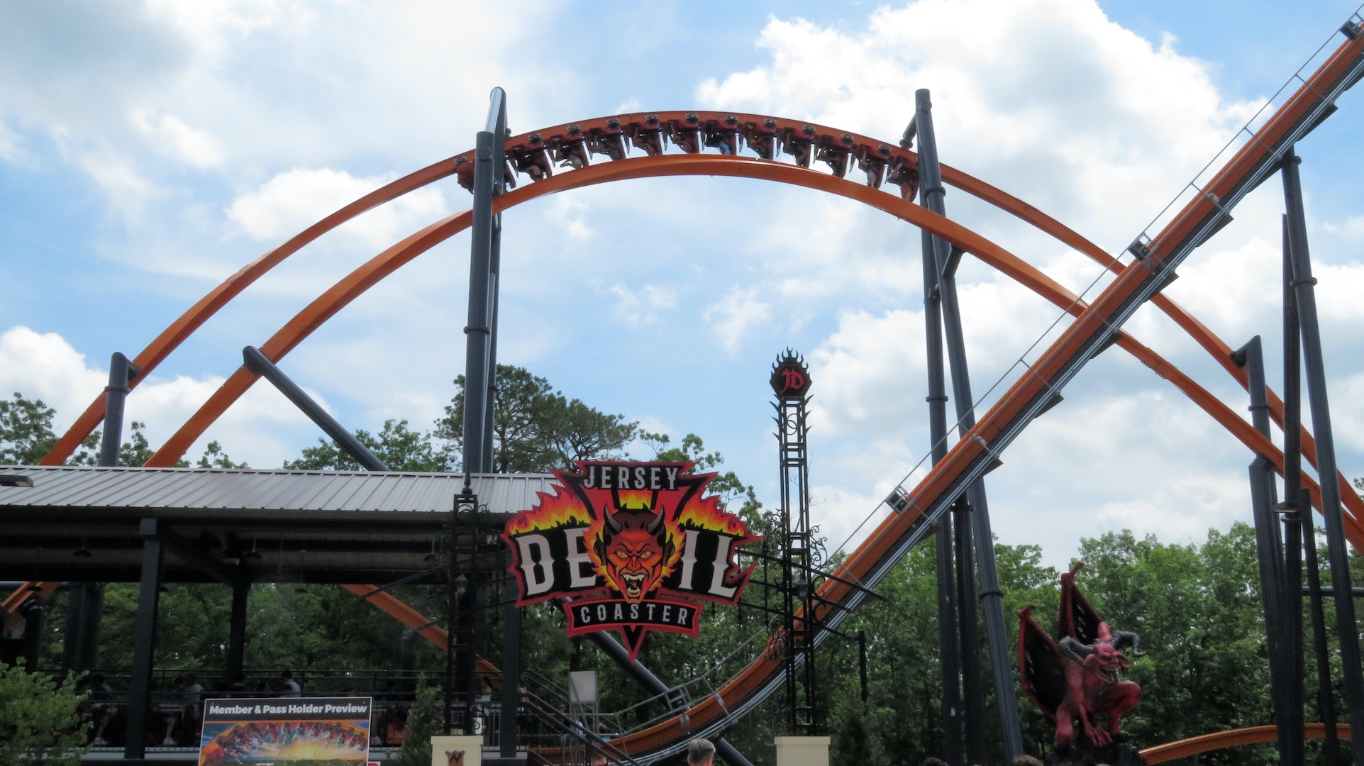 Great Adventure Opens Jersey Devil Coaster American Coaster Enthusiasts Ace