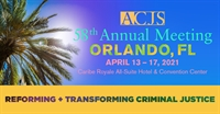 ACJS 58th Annual Meeting - Exhibitor Site