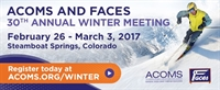 ACOMS and FACES 30th Annual Winter Meeting