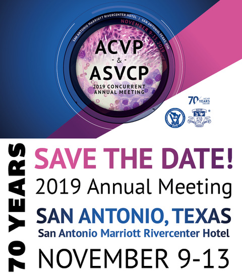 2019 Annual Meeting - American College of Veterinary