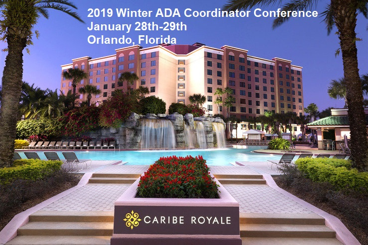 Winter ADA Coordinator Conference Hotel