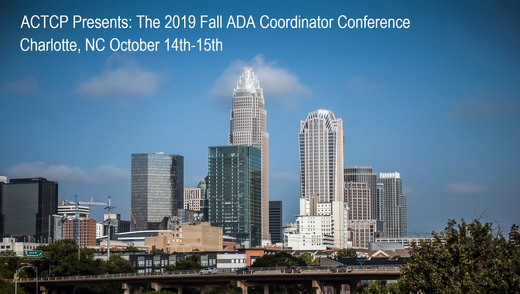 Image of Charlotte Skyline Fall ACTCP Conference Oct 14-15