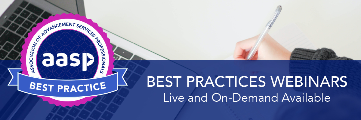 Best Practices Webinars