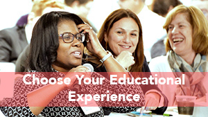 Have you choice of educational sessions