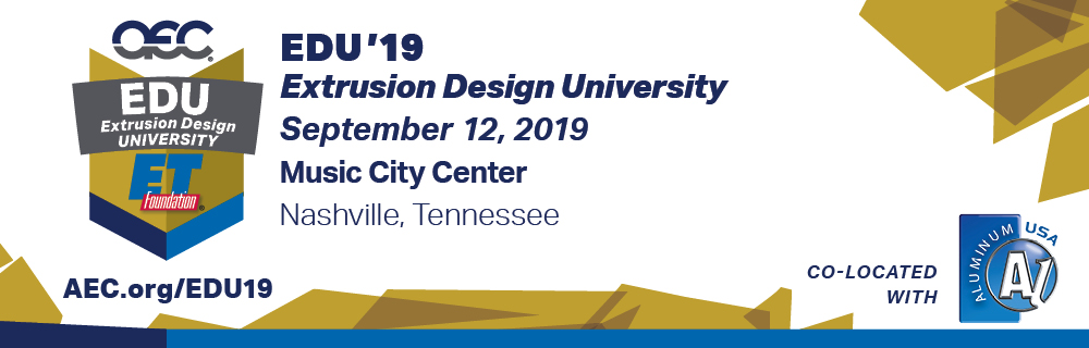 EDU'19 - Extrusion Design University