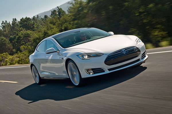 Launch of the award-winning Tesla, Model S