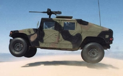 Aluminum extrusions in military humvee