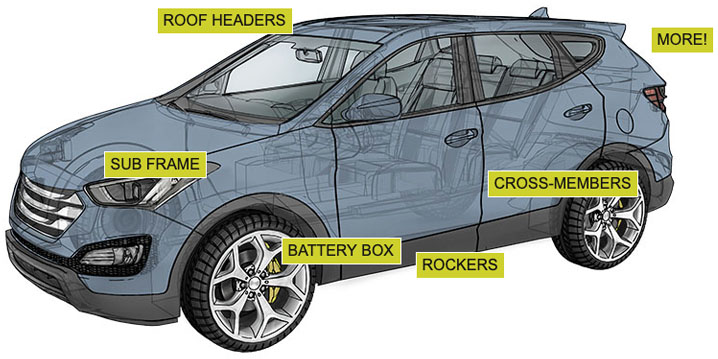 Aluminum Extrusions in the Auto Industry