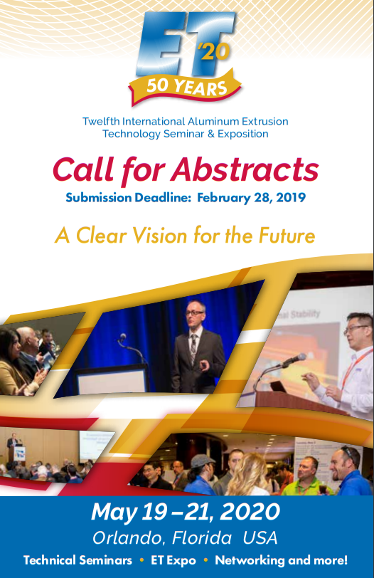 ET 20 Call for Abstracts